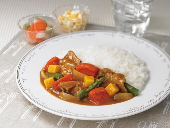 長崎県産アスパラの夏野菜カレー 長崎県産アスパラがポイント 調理時間約35分 エネルギー261k