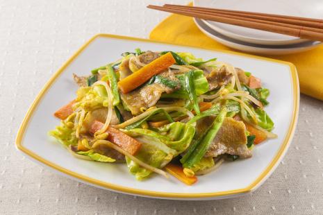 野菜 炒め の 味付け