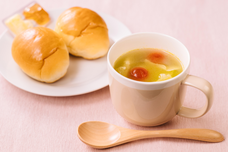クイックカレーチーズスープ