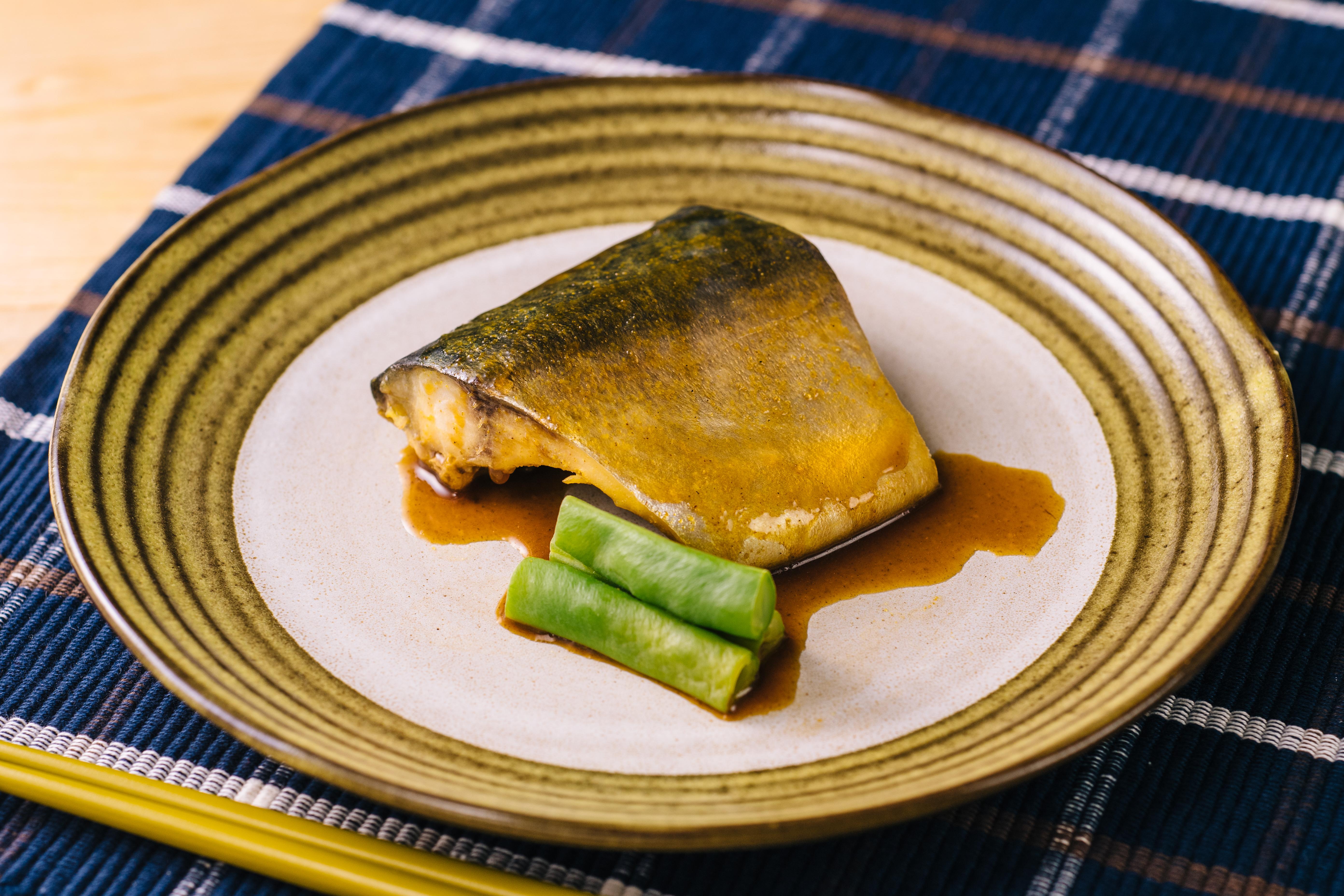 魚のカレ―煮つけ