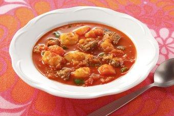 <b>グヤーシュ</b>(ハンガリー風スープ) | おすすめレシピ一覧 | ハウス食品