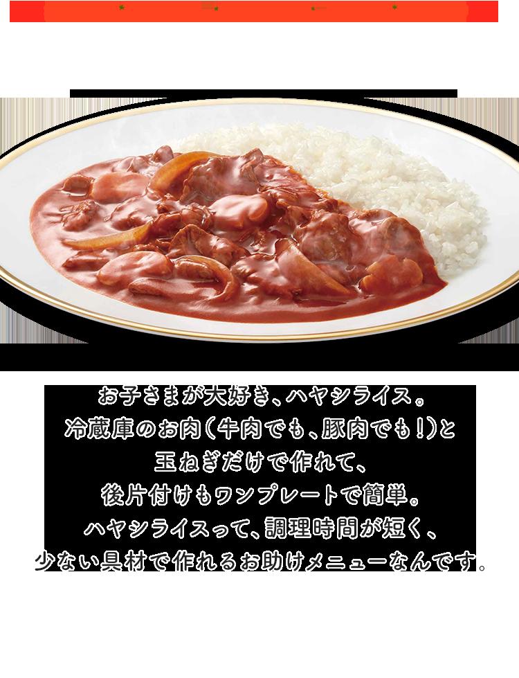 ハヤシライス 豚肉